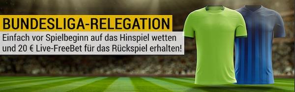 Bundesliga Relegation Promotion bei bwin