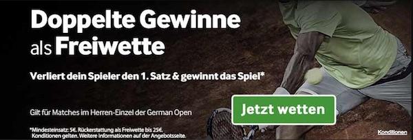 Betway Freebet Promo German Open