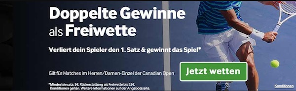 Betway Promo ATP Montreal 2017