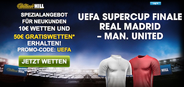 William Hill Supercup Real Madrid - Manchester United