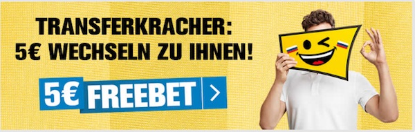 Interwetten 5 Euro Freebet WM Quali 2017