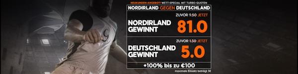888sport Promo Nordirland gegen Deutschland