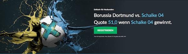 Borussia Dortmund gegen Schalke 04-Boost bei Betvictor