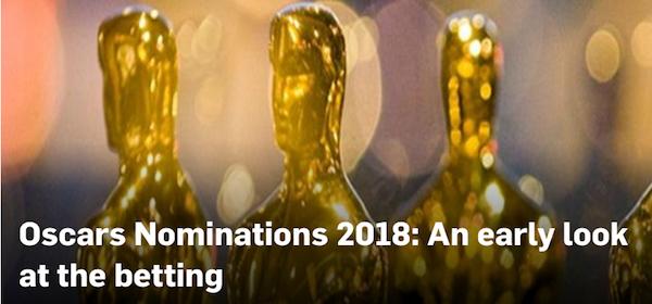 Auf die Oscars 2018 wetten