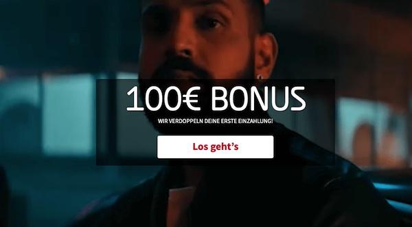 100 Euro Tipico Einzahlungsbonus