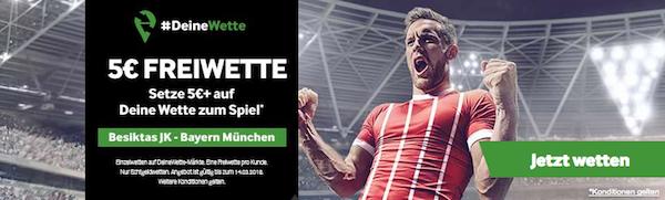 Betway Deine Wette Special Besiktas-Bayern