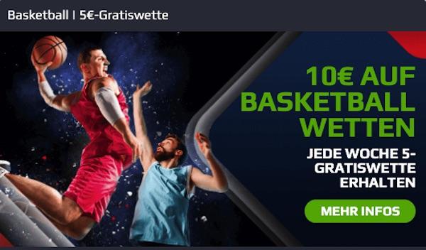 Basketball Gratiswette bei Netbet!