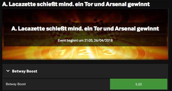 Arsenal Atletico Europa League Betway