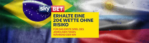 Skybet WM Wette Auftakspiele
