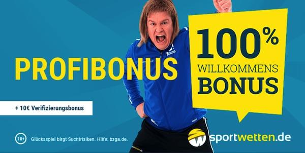 150 Euro Bonus bei sportwetten.de