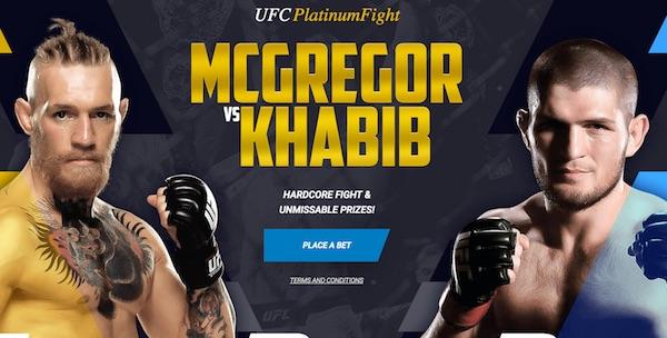 1xbet: Auf Khabib-McGregor wetten und bei Verlosung absahnen