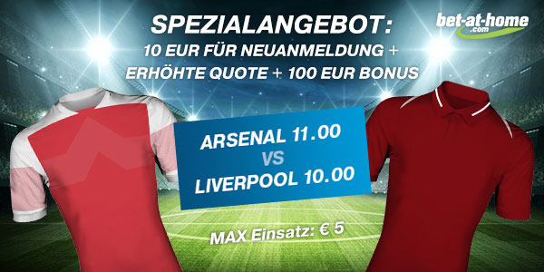 Arsenal Liverpool Wette Quotenboost