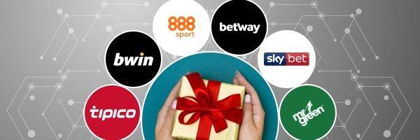 Bonus und Wettanbieter Logos