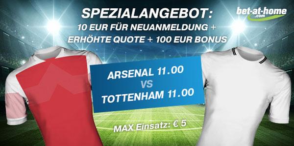 Arsenal Wette Tottenham