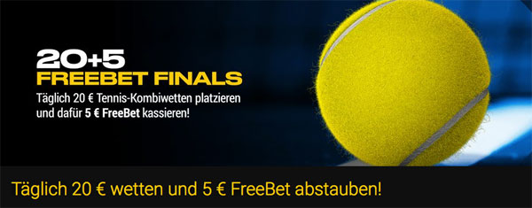 Top Wette 5 Euro Bwin Tennis
