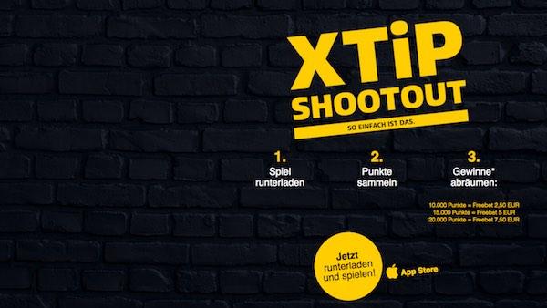 XTiP mit dem Smartphone Gewinnspiel Shootout