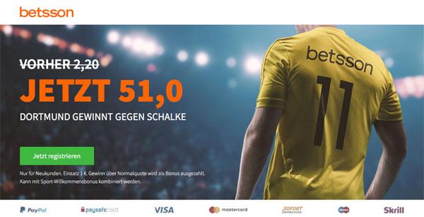 Betsson Wette Dortmund Spiel