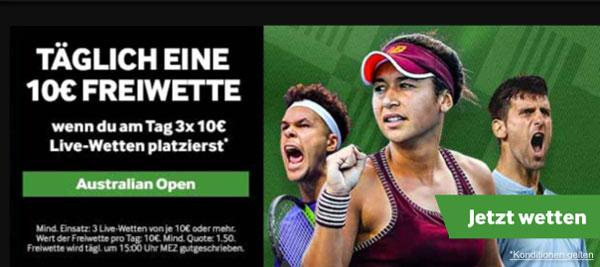Tennis Wette Australian Open