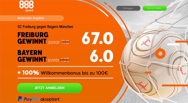 888sport Freiburg Bayern