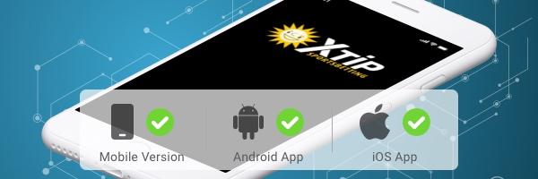 XTiP hat sowohl eine Android als auch eine iOS App