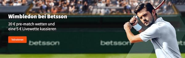 Betsson Wimbledon Tennisspieler
