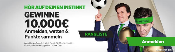 Betway Sommer Rangliste