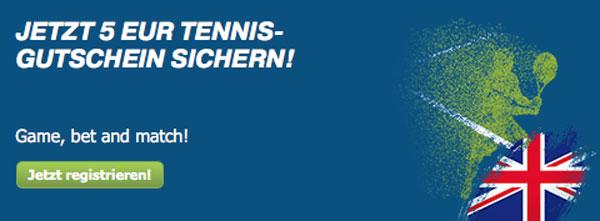 Bet at home Wette Tennis Wimbledon
