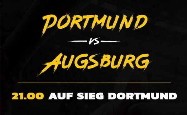Energybet Quotenboost Dortmund Augsburg
