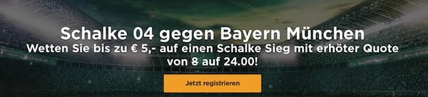 Mr. Green Quotenboost Schalke Bayern