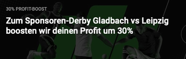 Unibet Boost Gladbach Leipzig