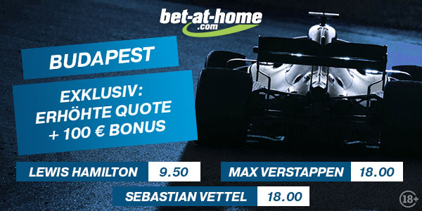 Formel 1 Wette Budapest Bet at home