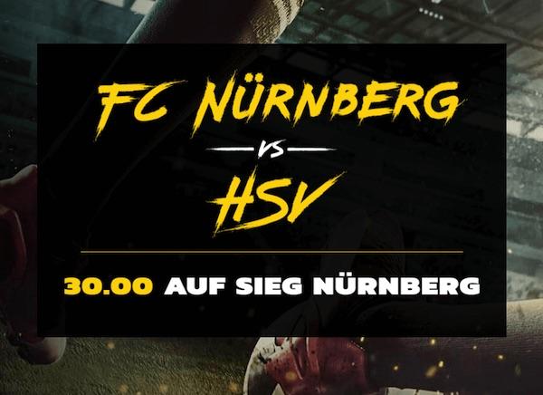 Quote 30.0 auf Sieg Nürnberg bei Energybet