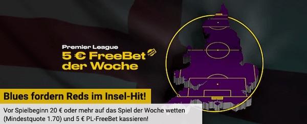 Bwin EPL Spiel der Woche: Chelsea-Liverpool