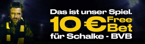 10 Euro von Bwin zu Schalke gegen BVB