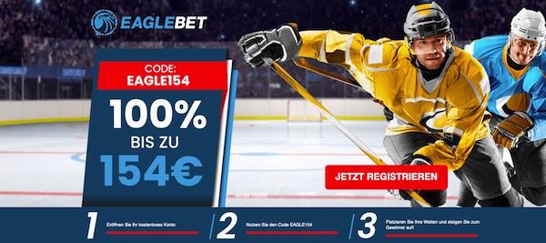 EagleBet Bonus - 154 Euro exklusiv