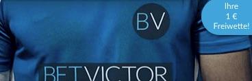 BetVictor Bundesliga Freebet 1 Euro