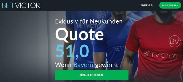 Bayern Schalke Quote Bundesliga BetVictor