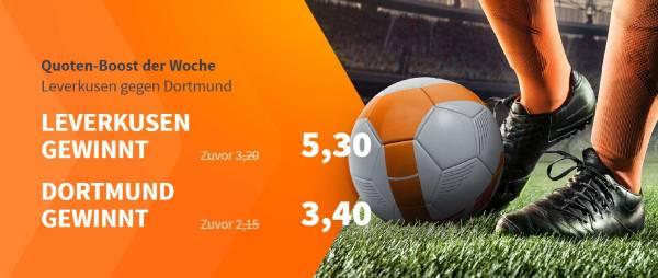 Betsson Wette Leverkusen Dortmund