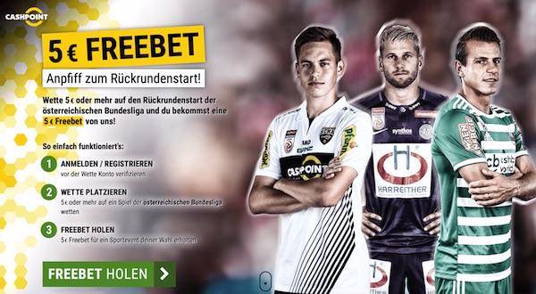 Cashpoint Bundesliga Österreich Freiwette