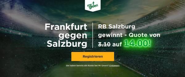 Frankfurt Salzburg Wette Mr. Green