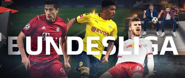 Bundesliga Aktion bei Bahigo