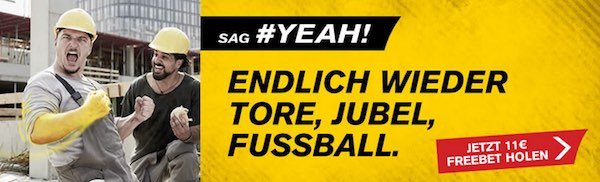 Interwetten Gratiswette zum Restart der Bundesliga