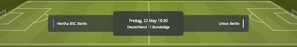 Sunmaker Quoten zum Berliner Derby zwischen Hertha und Union
