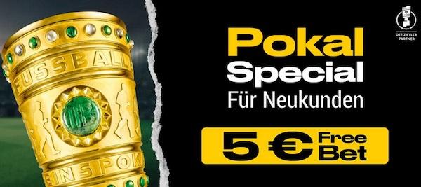 Bwin 5 Euro Freebet als Pokal Special für Neukunden