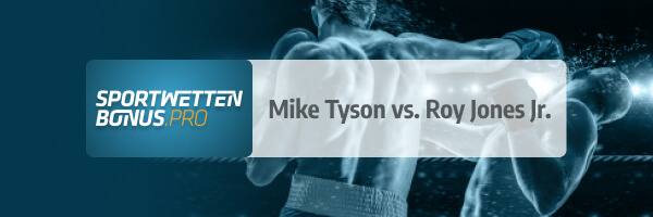 Vorschau auf Boxkampf Mike Tyson vs. Roy Jones Jr.