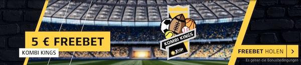 XTiP Kombi Kings Gratiswetten Aktion über 13 Wochen