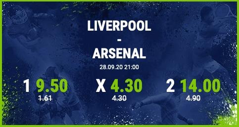 Bet-at-home Mega Quoten zu Liverpool-Arsenal