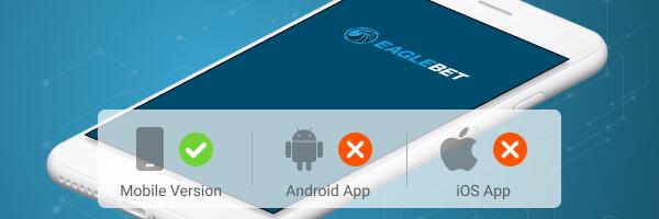 Smartphone Grafik zur Eaglebet App