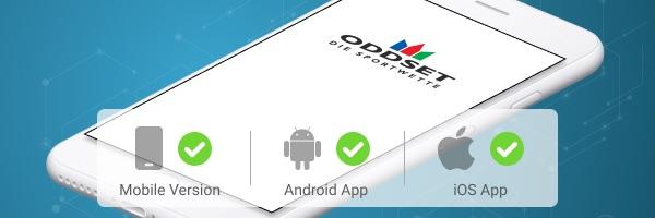 ODDSET Sportwetten App Grafik