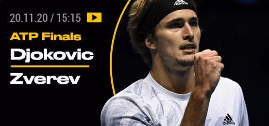Bwin ATP Finals 2020 Djokovic Zverev Wetten Quoten Vorschau